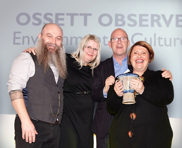 Ossett Observer Award Pic